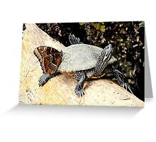 Hitchhiker. Greeting Card