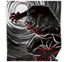 Blood Moon (B&W Version) Poster