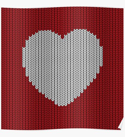Wool Heart Poster