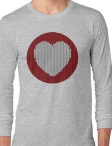 Wool Heart Long Sleeve T-Shirt