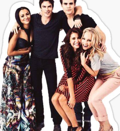 The Vampire Diaries Cast Sticker
