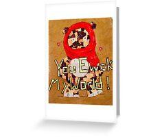Star Wars Valentine Ewok Greeting Card