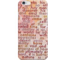 Quote by Cormac McCarthy iPhone Case/Skin