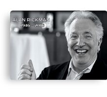 Alan Rickman - RIP Canvas Print