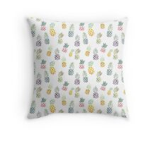 Candy Pineapples Throw Pillow