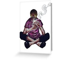 sanji skypiea Greeting Card
