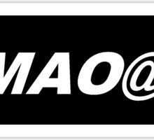 Bumper Sticker 2016 Series: LMAO@U Sticker