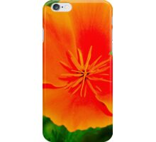 Sunset flower iPhone Case/Skin