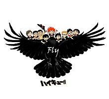 Fly Karasuno Photographic Print