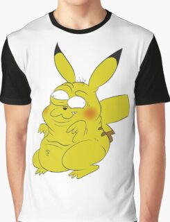 Retarded Pikachu - Pokémon Graphic T-Shirt