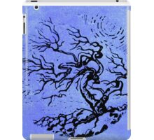Old and Ancient Tree - Blue by Heather Holland iPad Case/Skin