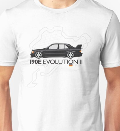 'Nurburg Destroyer' 190E Evolution 2 Unisex T-Shirt