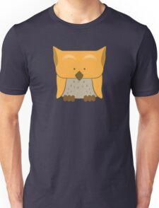 So cute Owl in orange Unisex T-Shirt