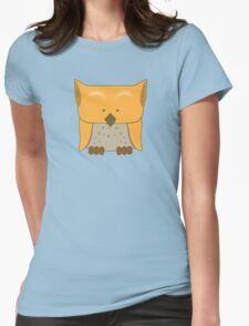 So cute Owl in orange T-Shirt