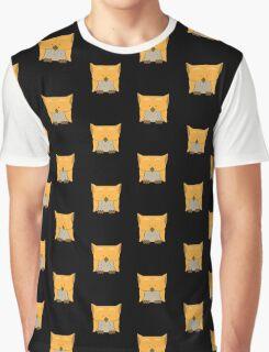 So cute Owl in orange Graphic T-Shirt