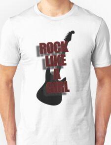 Rock Like A Girl T-Shirt