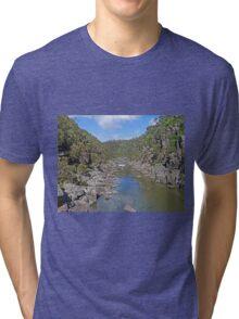 Cataract Gorge, Launceston Tri-blend T-Shirt