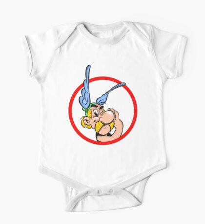 Cool Asterix One Piece - Short Sleeve