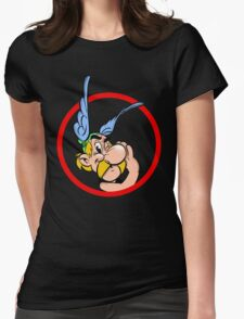 Cool Asterix Womens Fitted T-Shirt