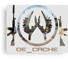 De_Cache Canvas Print