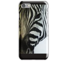 Zebra Thoughts iPhone Case/Skin
