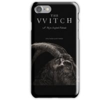 The Witch stylized as The VVitch horror movie iPhone Case/Skin