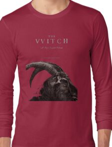 The Witch stylized as The VVitch horror movie Long Sleeve T-Shirt