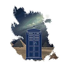 Dr. Who  Photographic Print