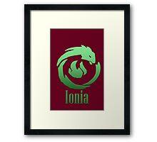 Ionia Framed Print