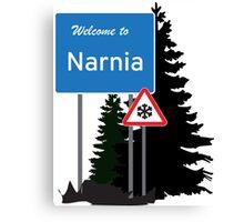 Narnia traffic Canvas Print