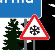 Narnia traffic Sticker