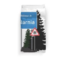 Narnia traffic Duvet Cover
