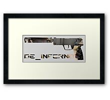 Usp-S Inferno Edition. Framed Print