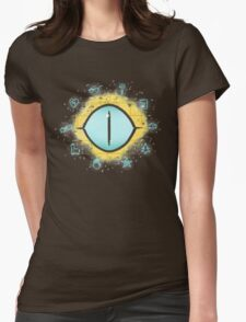 The Eye Of Fate // Bill Womens Fitted T-Shirt