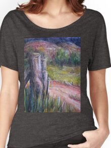 Fence Post in Flinders Ranges  Women's Relaxed Fit T-Shirt