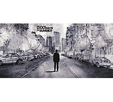 (500) Days of Summer- Lonely Tom Sketch Photographic Print