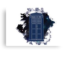 Dr. Who - Universe Canvas Print