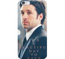 Derek Shephard iPhone Case/Skin