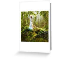 Dawn Goddess Greeting Card