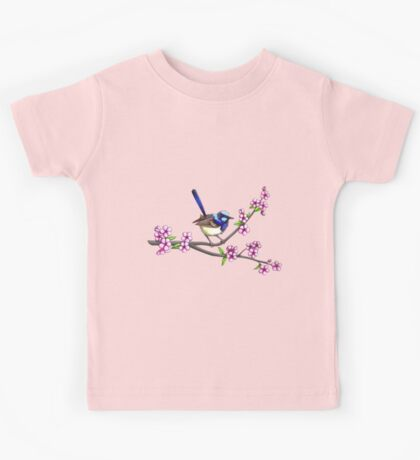 Little Blue Wren Kids Tee