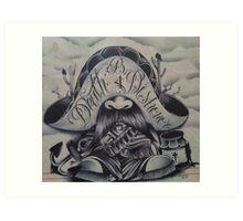 Death B4 Dishonor Art Print