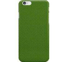 Neon Green & Black Carbon Fiber Simulated Material iPhone Case/Skin