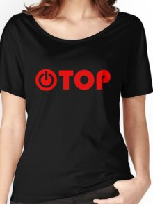 red power top Women's Relaxed Fit T-Shirt