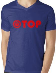 red power top Mens V-Neck T-Shirt