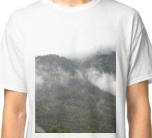 Cloudy Mountains Classic T-Shirt