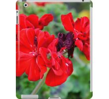 Flowers in Mirabell Gardens iPad Case/Skin