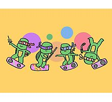 Hovering Turtles! Photographic Print