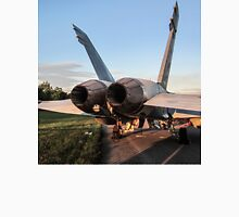 F18 Hornet Afterburners USAF Unisex T-Shirt