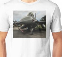 F16 jet fighter Unisex T-Shirt