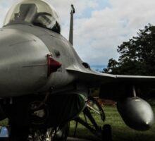 F16 jet fighter Sticker